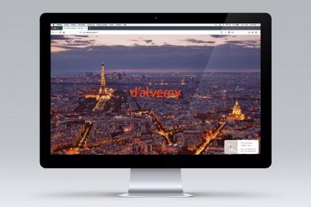Design de site web D'ALVERNY AVOCATS
